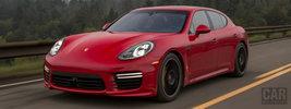 Porsche Panamera Turbo US-spec - 2013