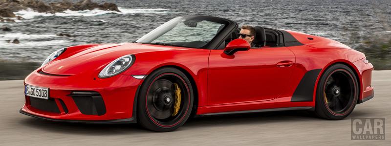 Обои автомобили Porsche 911 Speedster (Guards Red) - 2019 - Car wallpapers