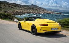 Обои автомобили Porsche 911 Speedster (Racing Yellow) - 2019