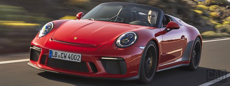 Обои автомобили Porsche 911 Speedster - 2019 - Car wallpapers