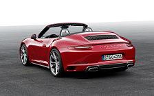 Обои автомобили Porsche 911 Carrera 4 Cabriolet - 2015