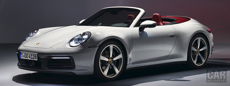 Обои автомобили Porsche 911 Carrera Cabriolet - 2019 - Car wallpapers
