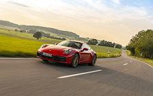 Обои автомобили Porsche 911 Carrera Coupe (Guards Red) - 2019