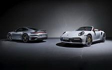 Обои автомобили Porsche 911 Turbo S Cabriolet - 2020