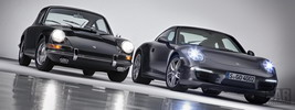 Porsche 911 Carrera 4S Coupe 2013 and Porsche 911 2.0 Coupe 1964
