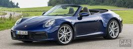 Porsche 911 Carrera Cabriolet (Gentian Blue Metallic) - 2019