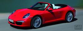 Porsche 911 Carrera S Cabriolet - 2012