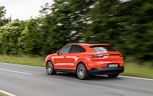 Обои автомобили Porsche Cayenne Coupe (Lava Orange) - 2019