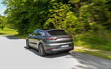 Обои автомобили Porsche Cayenne S Coupe (Quarzite Grey Metallic) - 2019
