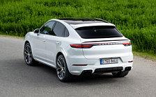 Обои автомобили Porsche Cayenne Turbo Coupe (Carrara White Metallic) - 2019