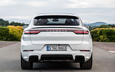 Обои автомобили Porsche Cayenne Turbo Coupe (Carrara White Metallic) - 2019