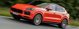 Porsche Cayenne Coupe (Lava Orange) - 2019