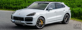 Porsche Cayenne Turbo Coupe (Carrara White Metallic) - 2019