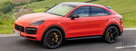 Porsche Cayenne Turbo Coupe (Lava Orange) - 2019