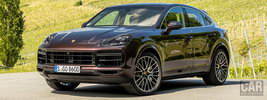 Porsche Cayenne Turbo Coupe (Mahogany Metallic) - 2019