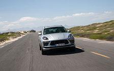 Обои автомобили Porsche Macan Turbo (Dolomite Silver Metallic) - 2019