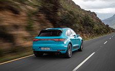 Обои автомобили Porsche Macan Turbo (Miami Blue) - 2019