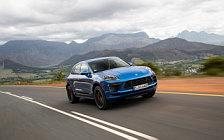 Обои автомобили Porsche Macan Turbo (Sapphire Blue Metallic) - 2019