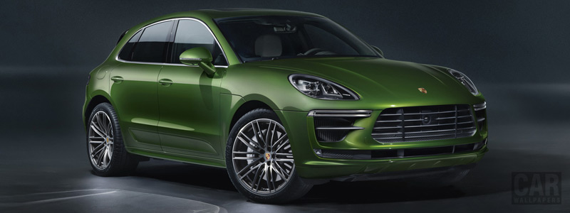 Обои автомобили Porsche Macan Turbo - 2019 - Car wallpapers