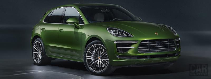 Обои автомобили Porsche Macan Turbo - 2019 - Car wallpapers