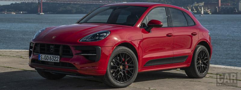 Обои автомобили Porsche Macan GTS (Carmine Red) - 2020 - Car wallpapers