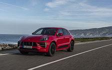 Обои автомобили Porsche Macan GTS (Carmine Red) - 2020