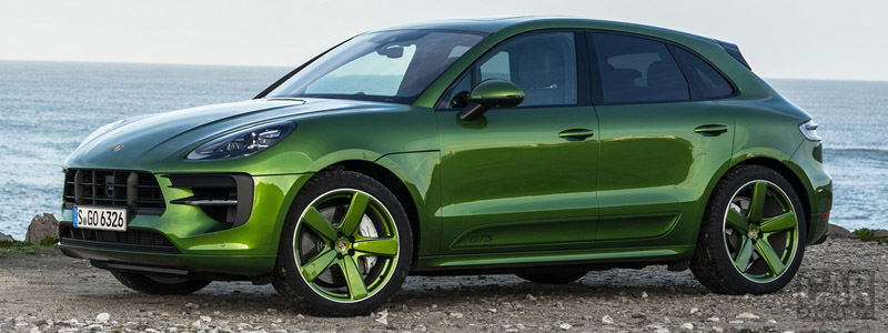 Обои автомобили Porsche Macan GTS (Mamba Green Metallic) - 2020 - Car wallpapers