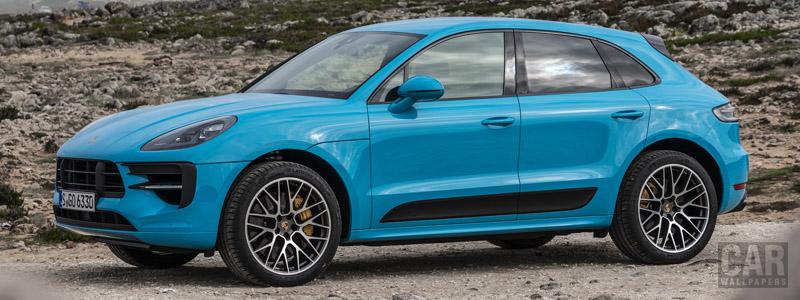 Обои автомобили Porsche Macan GTS (Miami Blue) - 2020 - Car wallpapers
