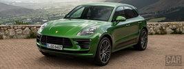 Porsche Macan Turbo (Mamba Green Metallic) - 2019