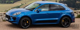 Porsche Macan Turbo (Sapphire Blue Metallic) - 2019