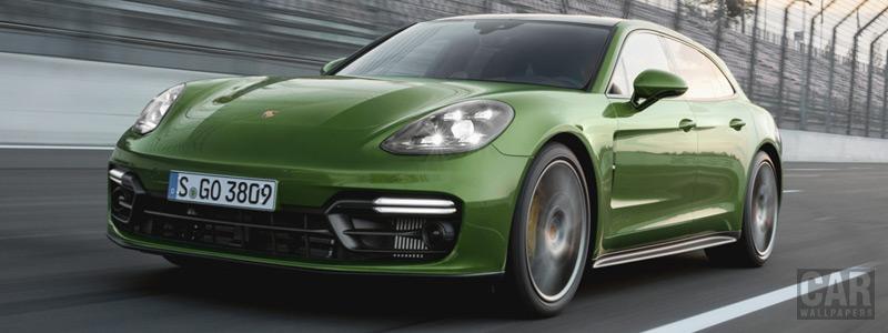 Обои автомобили Porsche Panamera GTS Sport Turismo - 2018 - Car wallpapers