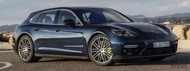 Porsche Panamera Turbo S E-Hybrid Sport Turismo (Night Blue Metallic) - 2017