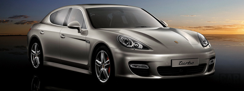 Обои автомобили Porsche Panamera Turbo - 2009 - Car wallpapers