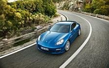 Обои автомобили Porsche Panamera S Hybrid - 2011