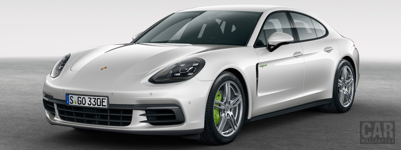 Обои автомобили Porsche Panamera 4 E-Hybrid - 2016 - Car wallpapers