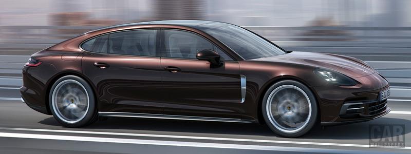 Обои автомобили Porsche Panamera 4 Executive - 2016 - Car wallpapers