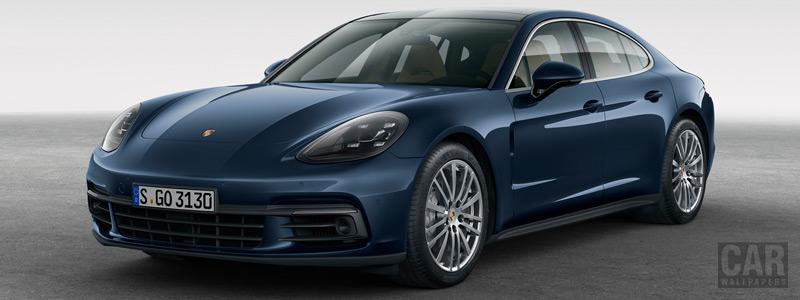 Обои автомобили Porsche Panamera 4S Diesel - 2016 - Car wallpapers