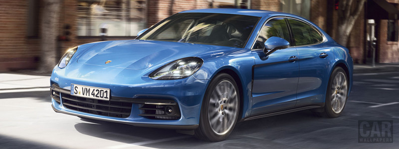Обои автомобили Porsche Panamera 4S - 2016 - Car wallpapers