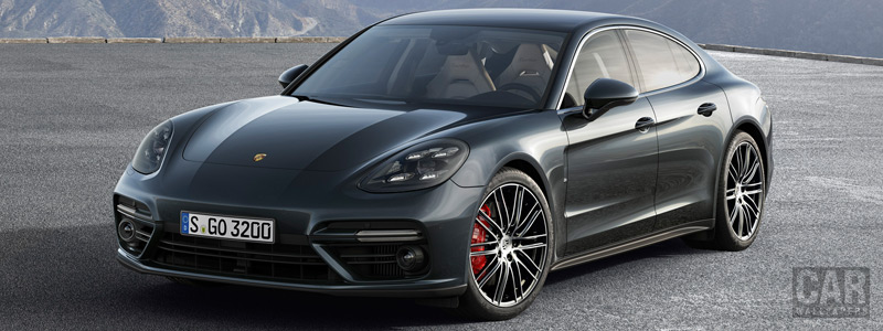 Обои автомобили Porsche Panamera Turbo - 2016 - Car wallpapers