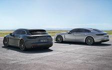 Обои автомобили Porsche Panamera Turbo S E-Hybrid Executive - 2017