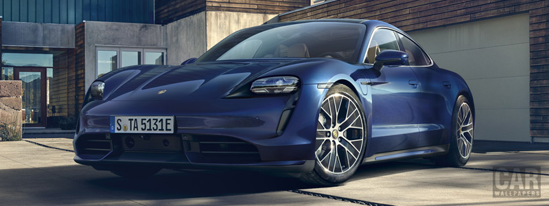 Обои автомобили Porsche Taycan Turbo - 2019 - Car wallpapers
