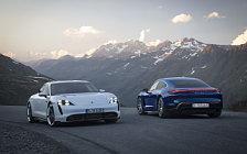 Обои автомобили Porsche Taycan Turbo - 2019